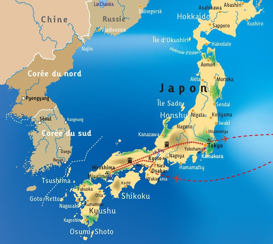 [KEY_MAP] - JAPON - Makis, Sushis & Compagnie...