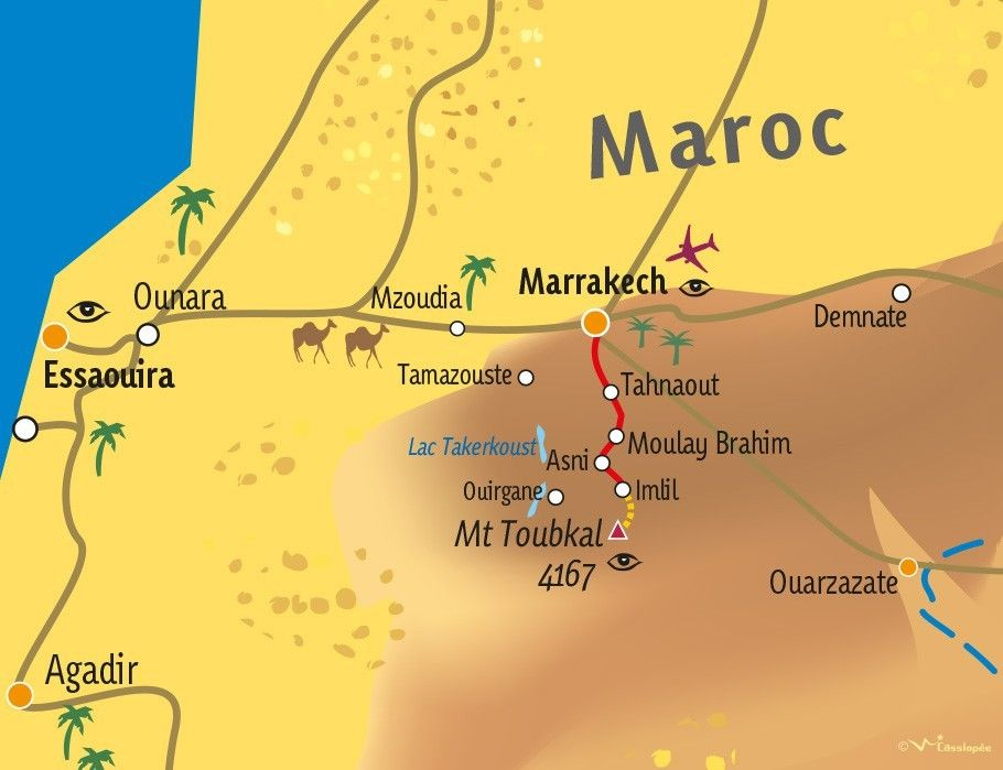 [KEY_MAP] - MAROC - L'ascension