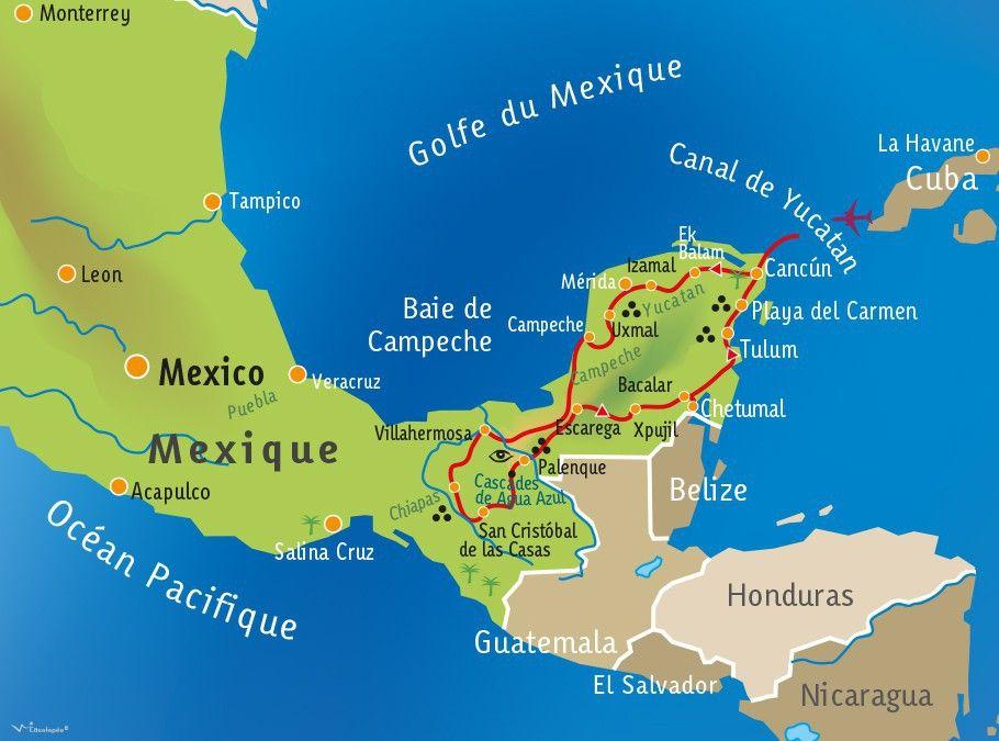 [KEY_MAP] - MEXIQUE - Mayas, pyramides & chocolat !