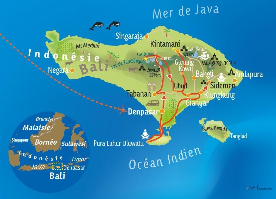 [KEY_MAP] - INDONÉSIE / BALI - Bien-Etre à Bali