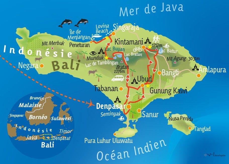 [KEY_MAP] - INDONÉSIE / BALI - Sensations balinaises