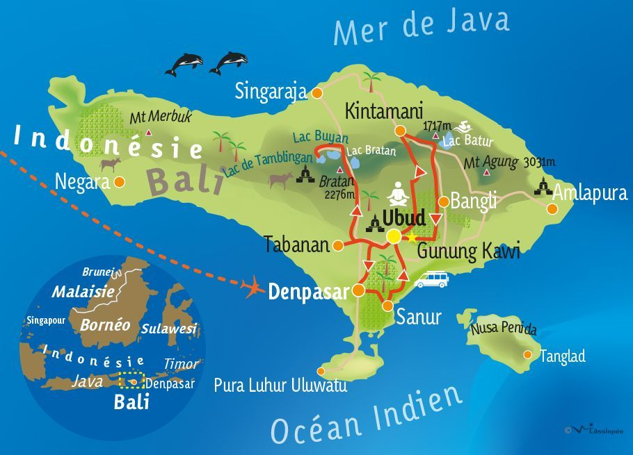 [KEY_MAP] - INDONÉSIE / BALI - Retraite spirituelle à Bali