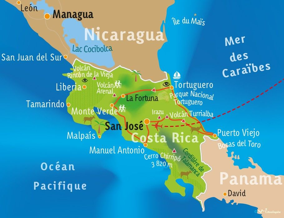 [KEY_MAP] - COSTA RICA - Fresque Costaricaine