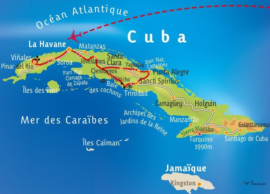 [KEY_MAP] - CUBA  - Cuba, l'inattendue !