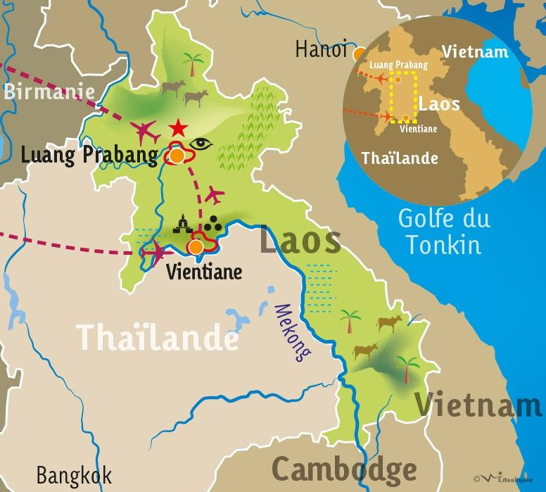 [KEY_MAP] - LAOS - Charmes du Laos