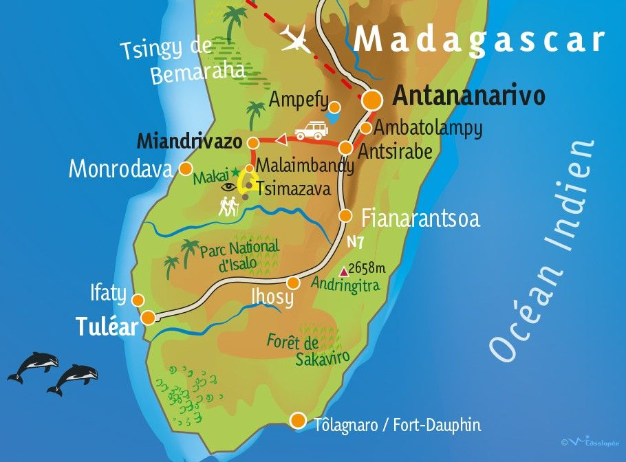 [KEY_MAP] - MADAGASCAR - Trek exceptionnel dans le Nord Makay