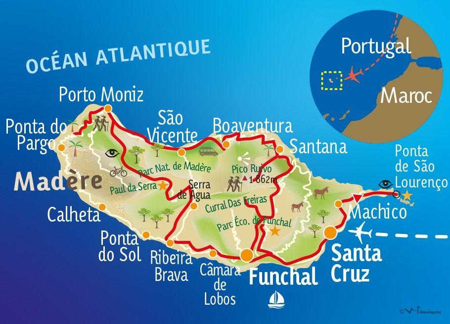 [KEY_MAP] - PORTUGAL - MADERE - Bain de nature à Madère !