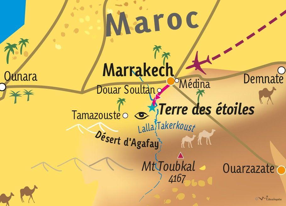 [KEY_MAP] - MAROC - Désert & the City