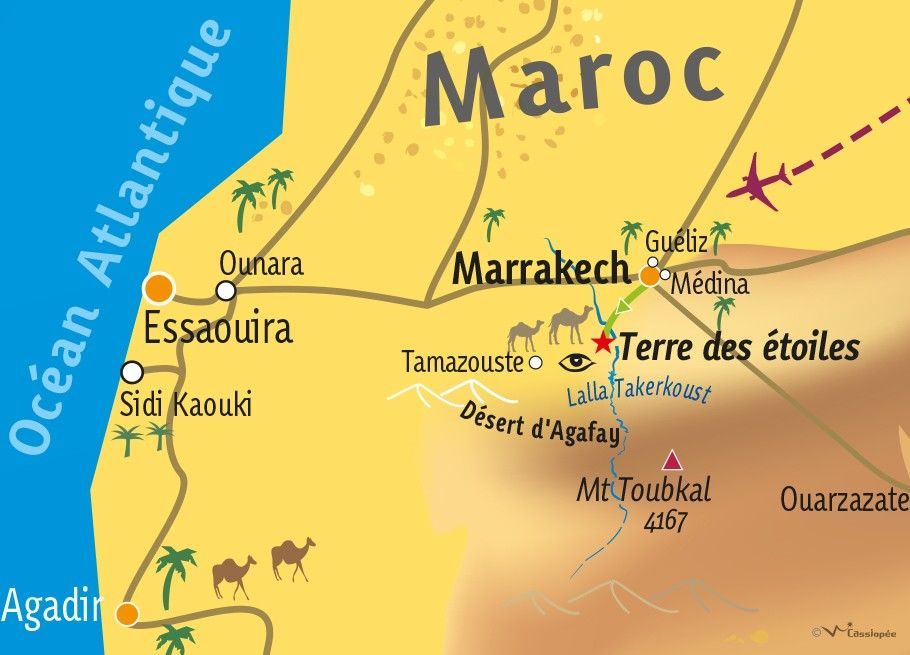 [KEY_MAP] - MAROC - Madame à Marrakech ...