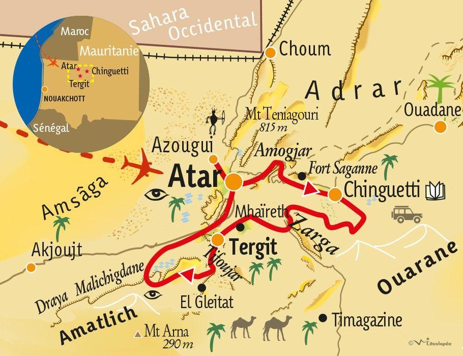 [KEY_MAP] - MAURITANIE - Evasion saharienne