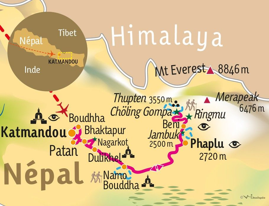 [KEY_MAP] - NEPAL - Découverte & Culture en Pays Sherpa