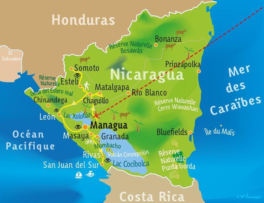 [KEY_MAP] - NICARAGUA - Aventure au Nicaragua