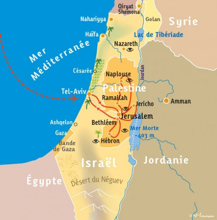[KEY_MAP] - PALESTINE - Regards de palestiniennes...