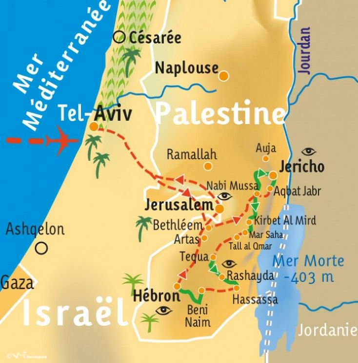 [KEY_MAP] - PALESTINE - Le Sentier d'Abraham