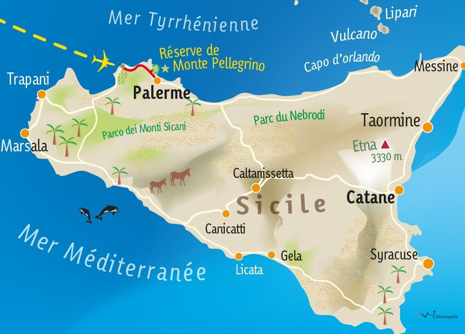 [KEY_MAP] - ITALIE - SICILE - Escapade Palermitaine