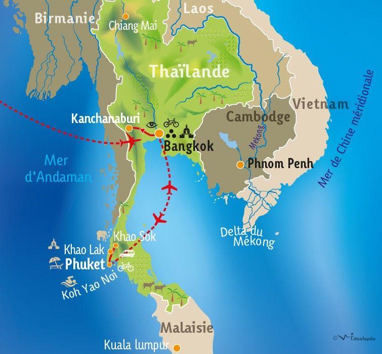 [KEY_MAP] - THAILANDE - Un parfum de Siam ...