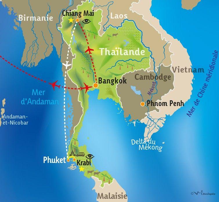 [KEY_MAP] - THAILANDE - Bien-Etre en Thailande