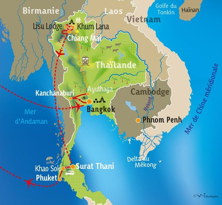 [KEY_MAP] - THAILANDE - Thaïlande authentique