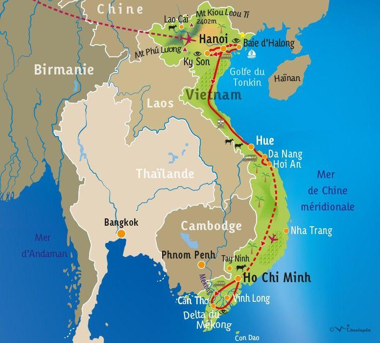 [KEY_MAP] - VIETNAM - Séjour Bien-être au Vietnam