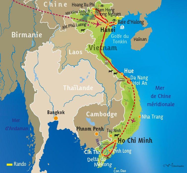 [KEY_MAP] - VIETNAM - Ethnies du Nord et delta du Mékong