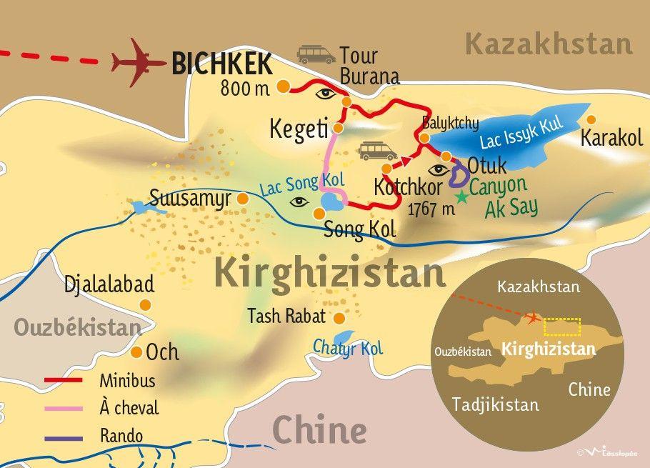 [KEY_MAP] - KIRGHIZISTAN - La chevauchée des steppes